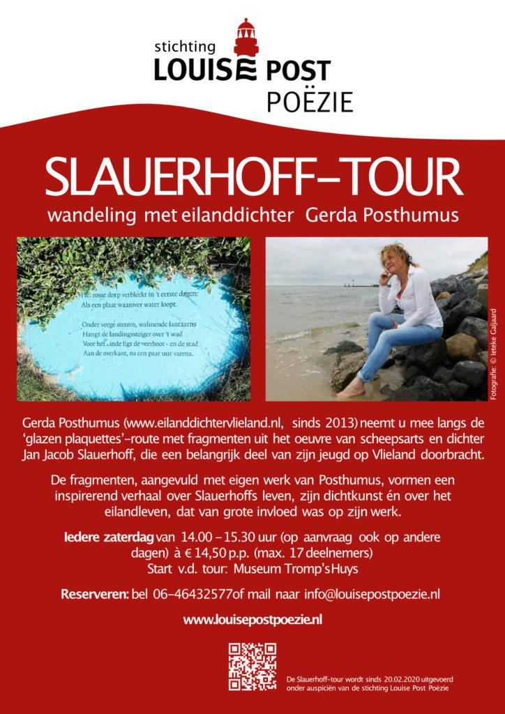 Flyer SLAUERHOFF TOUR 2020